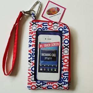 Touch Screen Cell Phone Wallet NWT